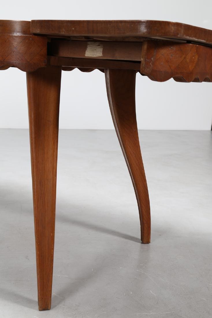PAOLO BUFFA Extending oak table, 1950s. - 5