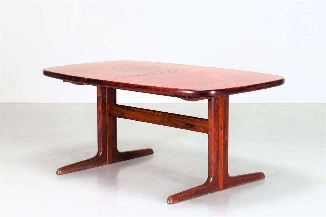 SKOVBY Extending rosewood table, 1970s.