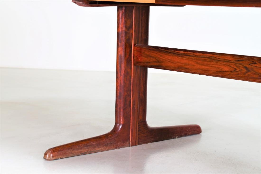 SKOVBY Extending rosewood table, 1970s. - 4