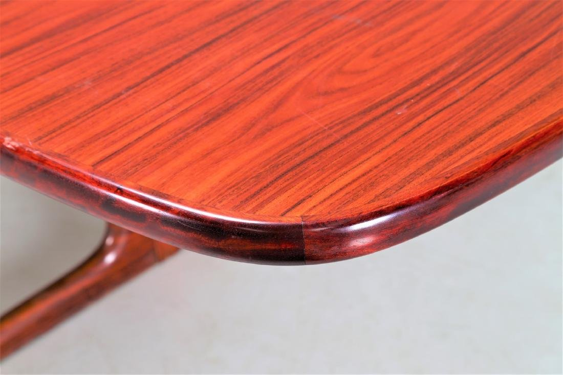 SKOVBY Extending rosewood table, 1970s. - 6