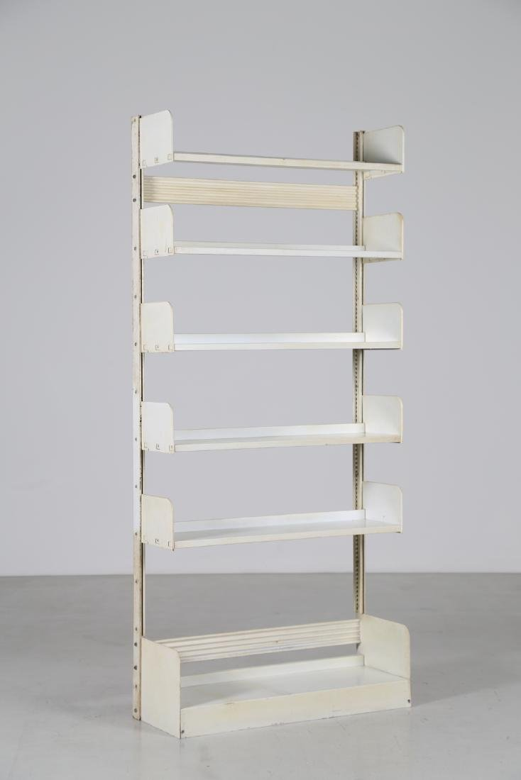 LIPS VAGO  Bookcase in lacquered metal, Congresso model
