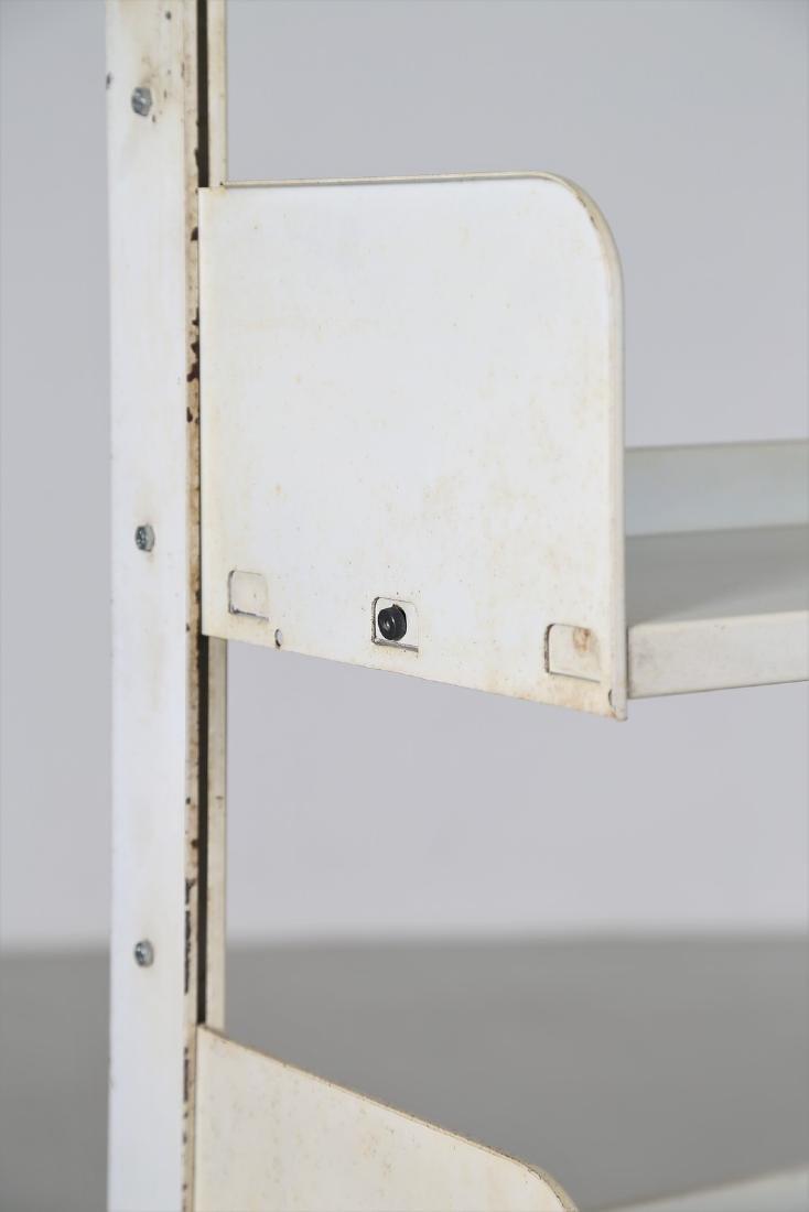LIPS VAGO  Bookcase in lacquered metal, Congresso model - 2