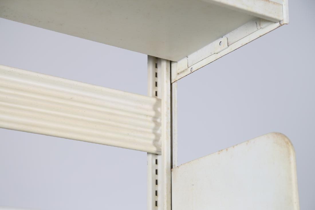 LIPS VAGO  Bookcase in lacquered metal, Congresso model - 3