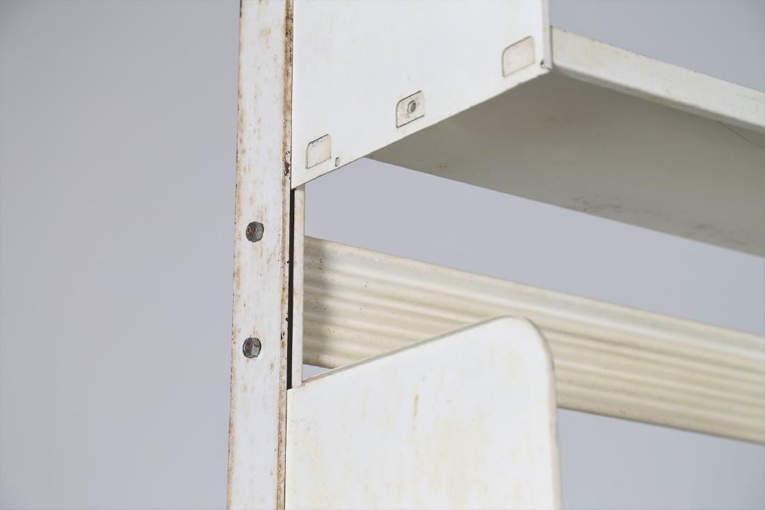 LIPS VAGO  Bookcase in lacquered metal, Congresso model - 4