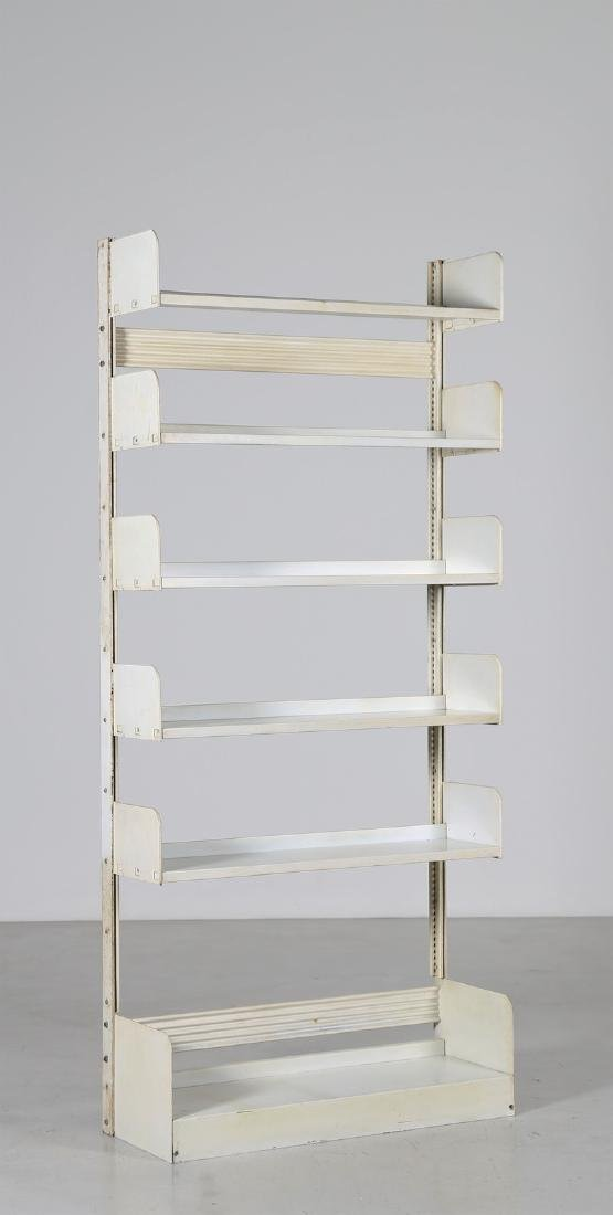 LIPS VAGO  Bookcase in lacquered metal, Congresso model