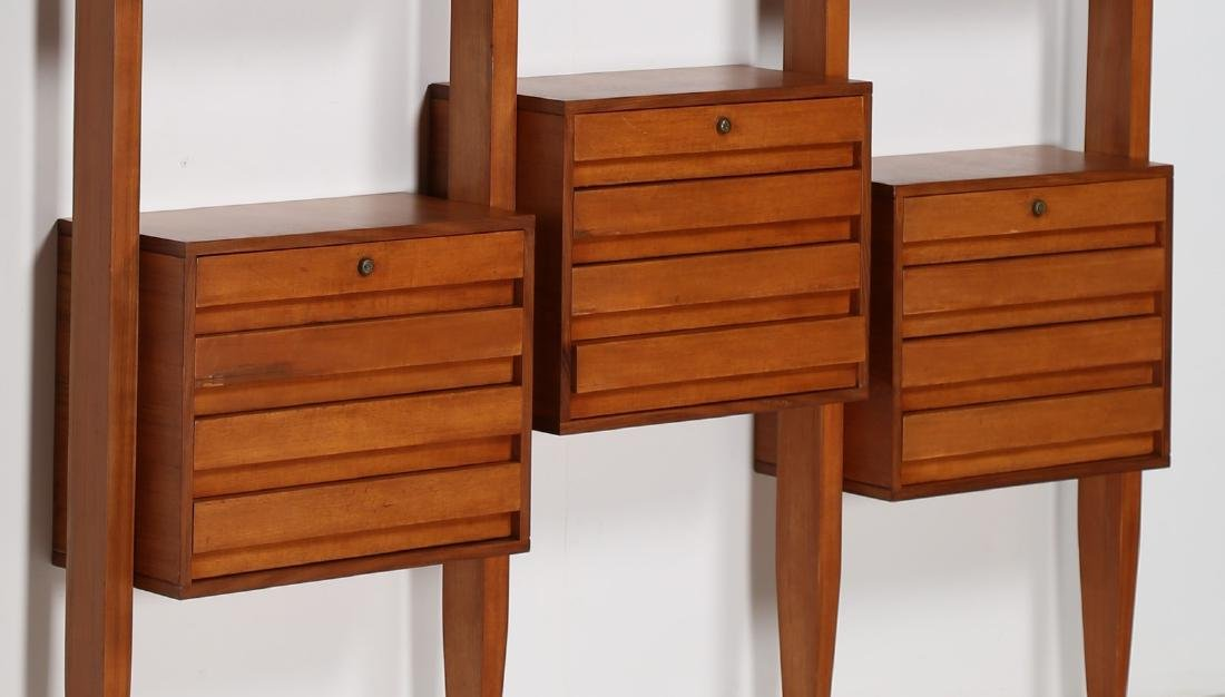 MANIFATTURA SVEDESE  Modular bookcase in teak with - 2
