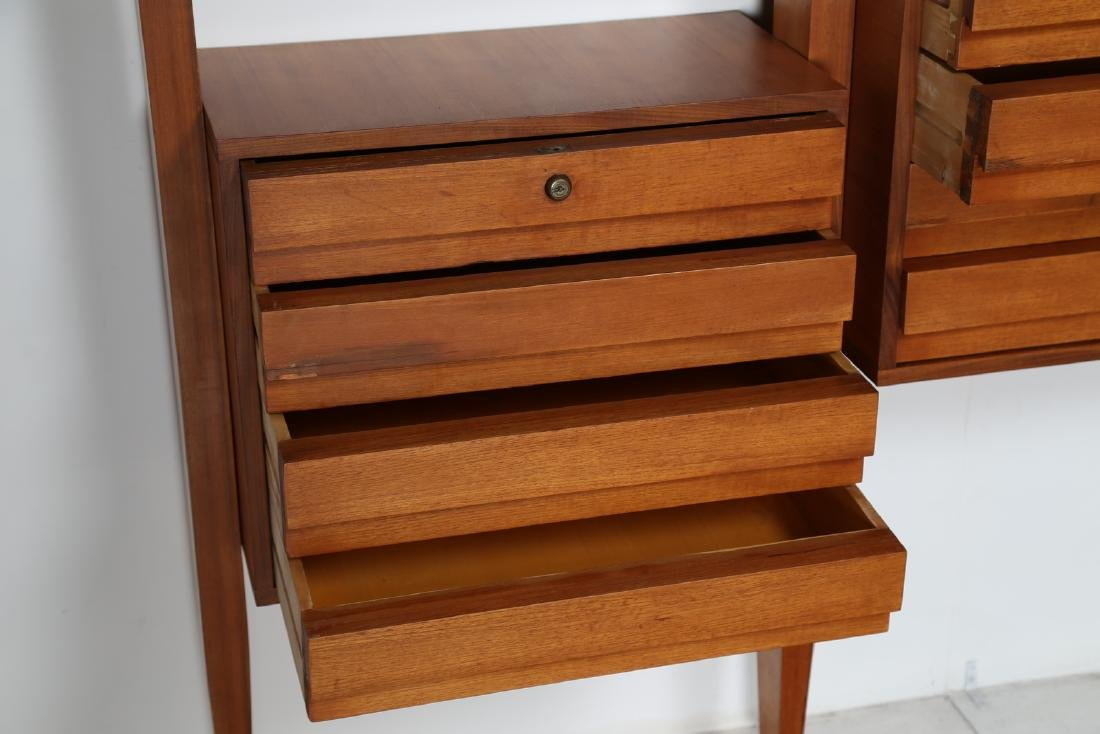 MANIFATTURA SVEDESE  Modular bookcase in teak with - 3