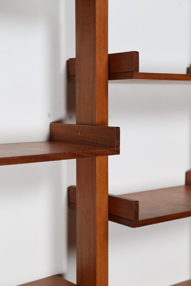 MANIFATTURA SVEDESE  Modular bookcase in teak with - 4