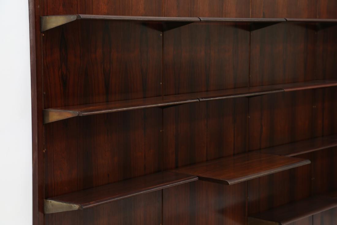 GIORGIO MADINI MORETTI Rosewood bookcase with brass - 2