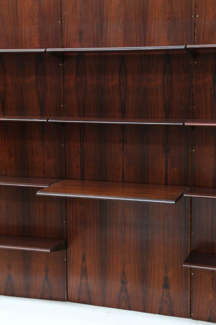 GIORGIO MADINI MORETTI Rosewood bookcase with brass - 3