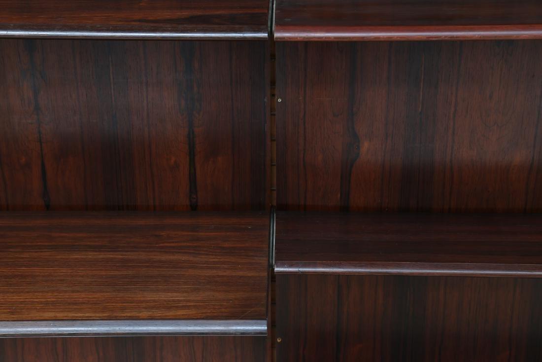 GIORGIO MADINI MORETTI Rosewood bookcase with brass - 4