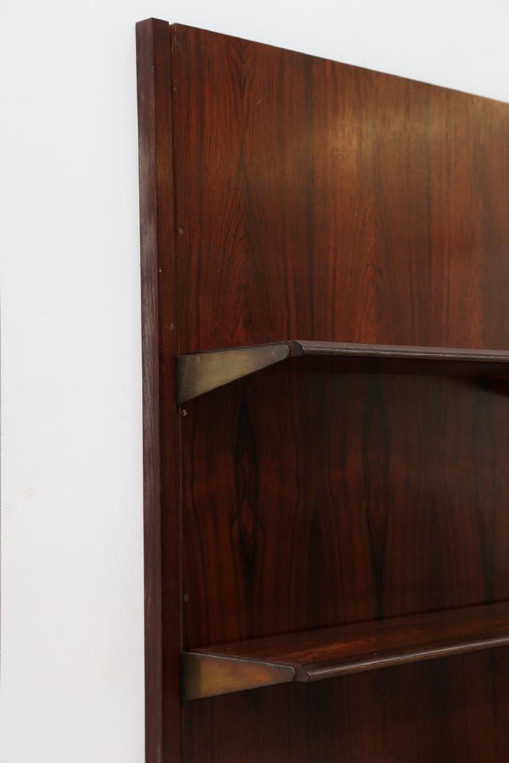 GIORGIO MADINI MORETTI Rosewood bookcase with brass - 5
