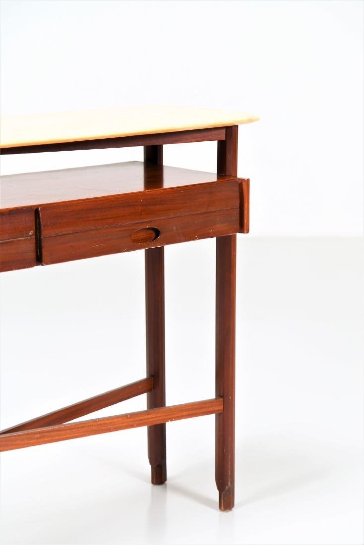 MANIFATTURA ITALIANA  Console table in wood and marble, - 4