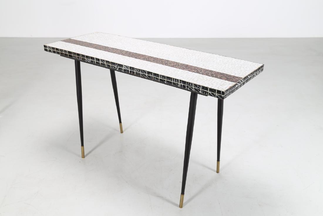 MANIFATTURA ITALIANA  Metal console table with ceramic - 2