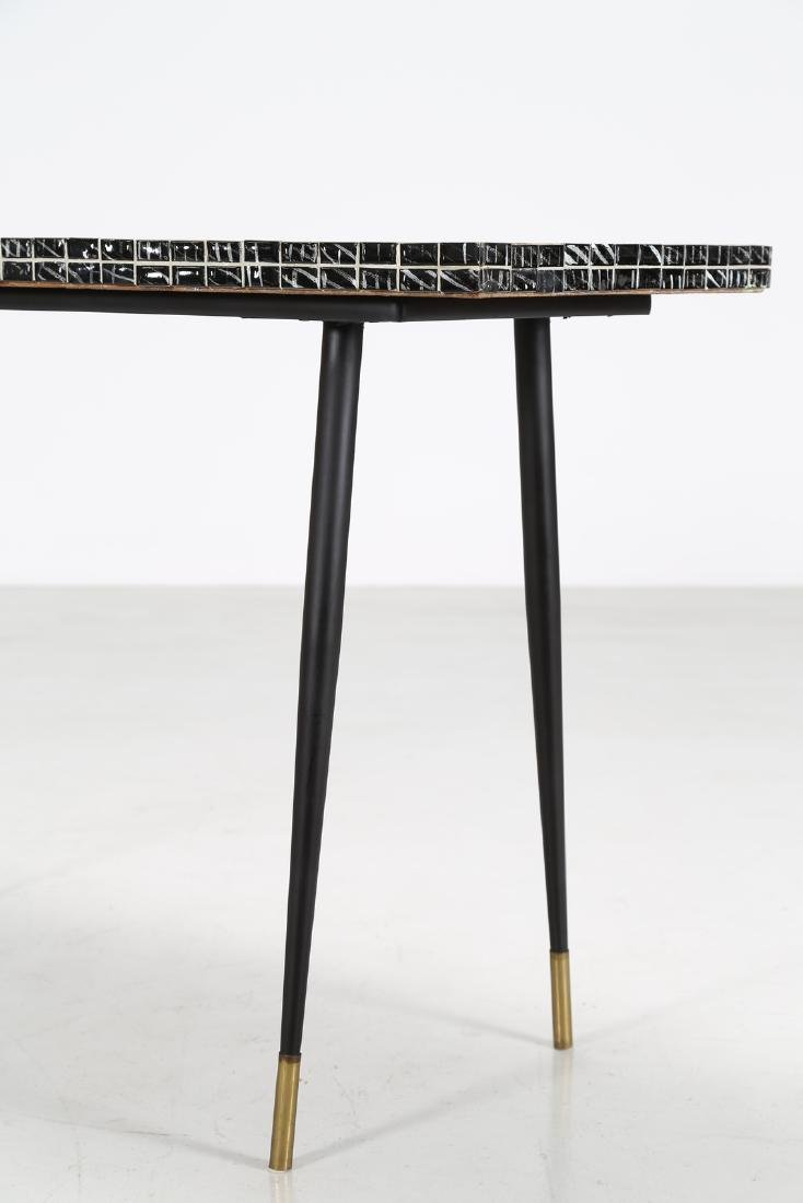 MANIFATTURA ITALIANA  Metal console table with ceramic - 3