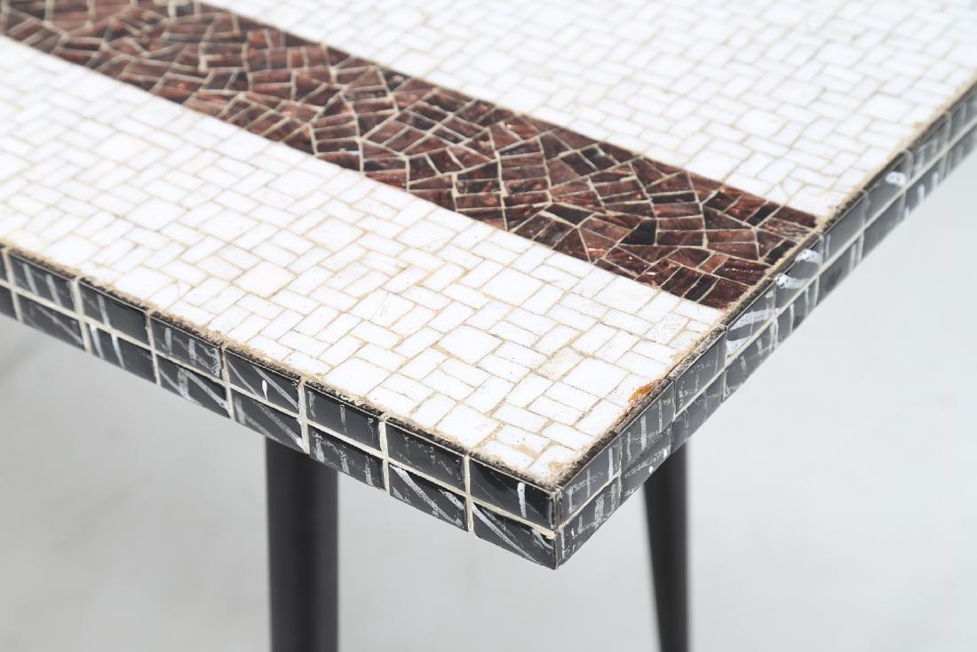 MANIFATTURA ITALIANA  Metal console table with ceramic - 5