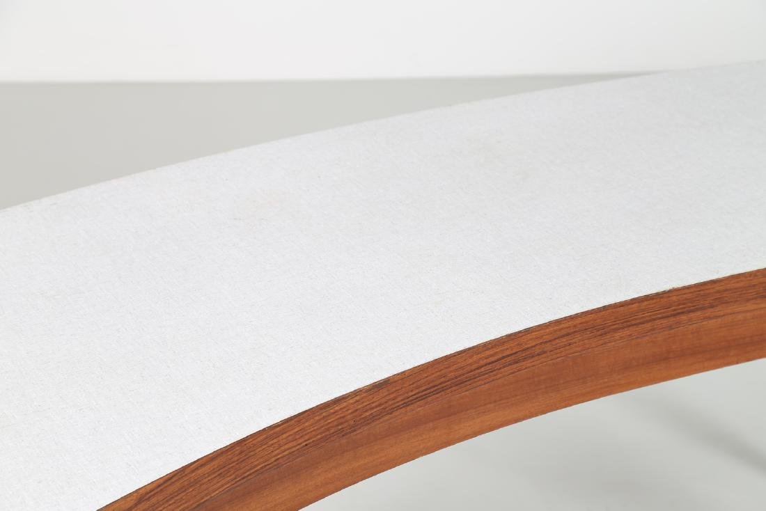 MANIFATTURA ITALIANA  Console in rosewood and teak with - 4
