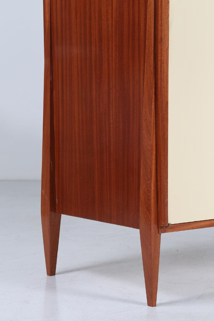 CASEY FANTIN  Mahogany and lacquered wood wardrobe, - 2