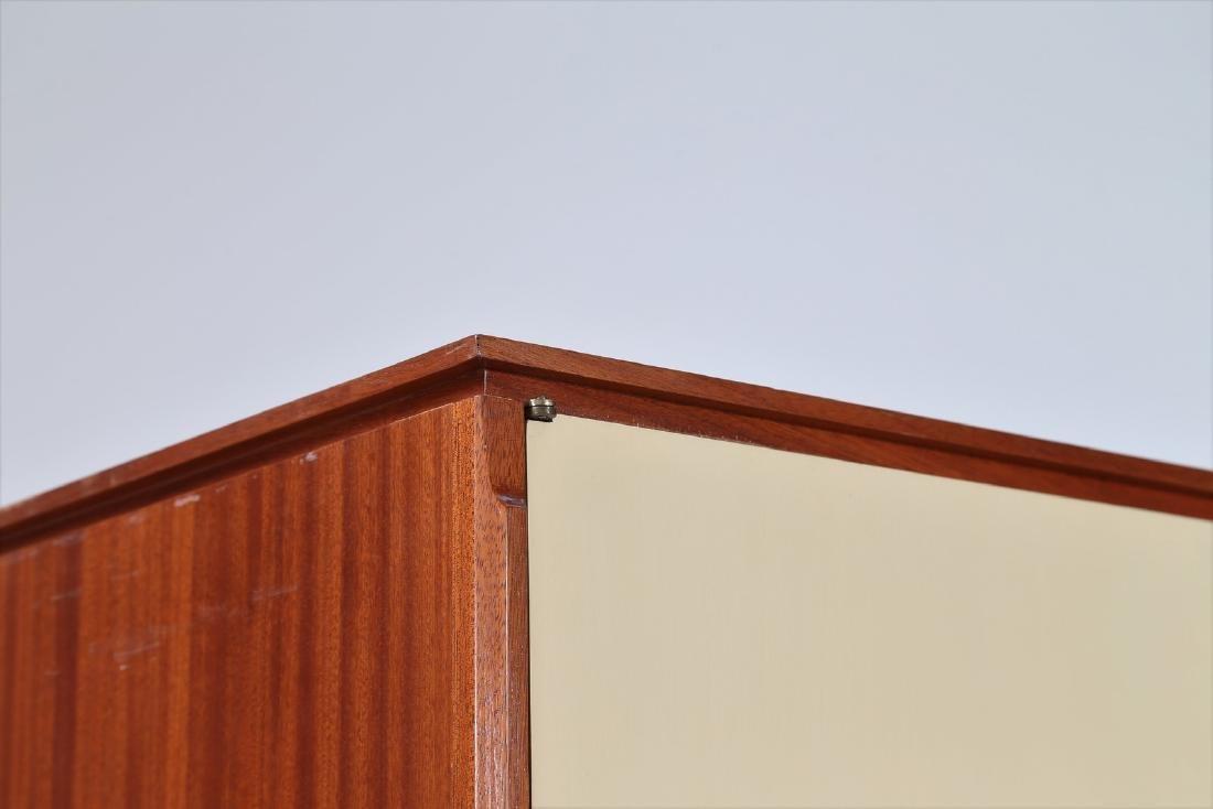 CASEY FANTIN  Mahogany and lacquered wood wardrobe, - 3