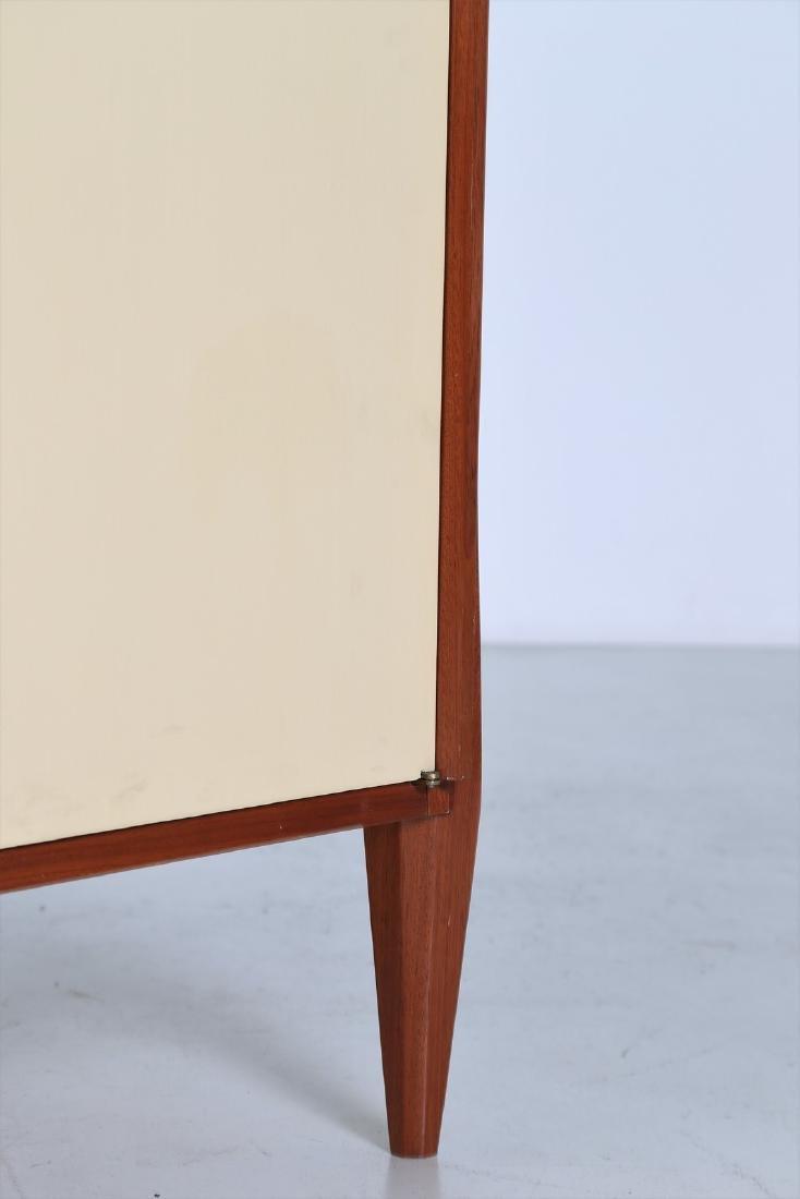 CASEY FANTIN  Mahogany and lacquered wood wardrobe, - 4