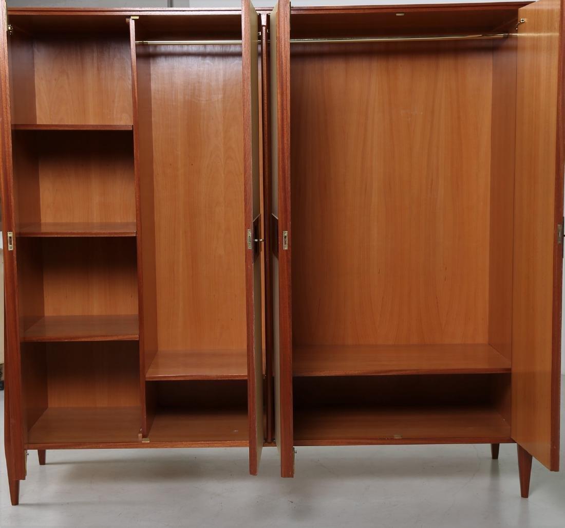 CASEY FANTIN  Mahogany and lacquered wood wardrobe, - 6