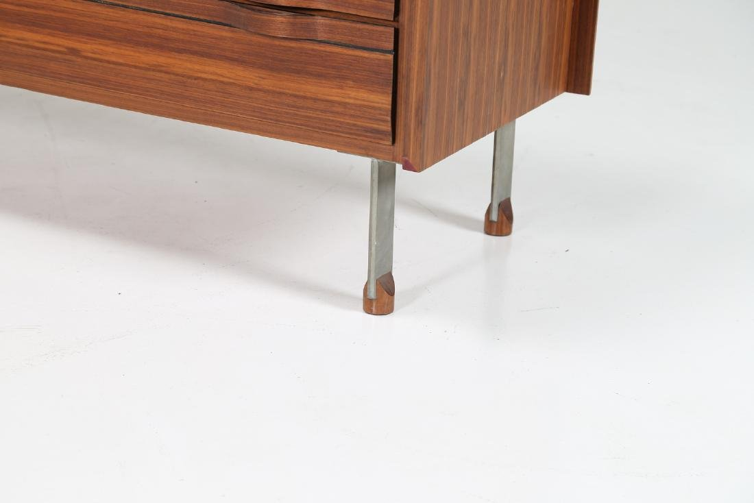 SORGENTE DEI MOBILI Sideboard in rosewood and chromed - 6