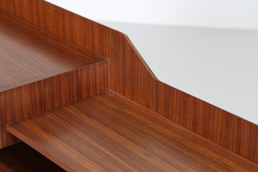 SORGENTE DEI MOBILI Sideboard in rosewood and chromed - 8