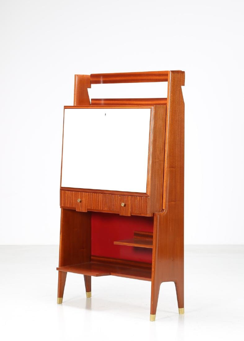 MANIFATTURA ITALIANA  Drinks cabinet in lacquered wood,