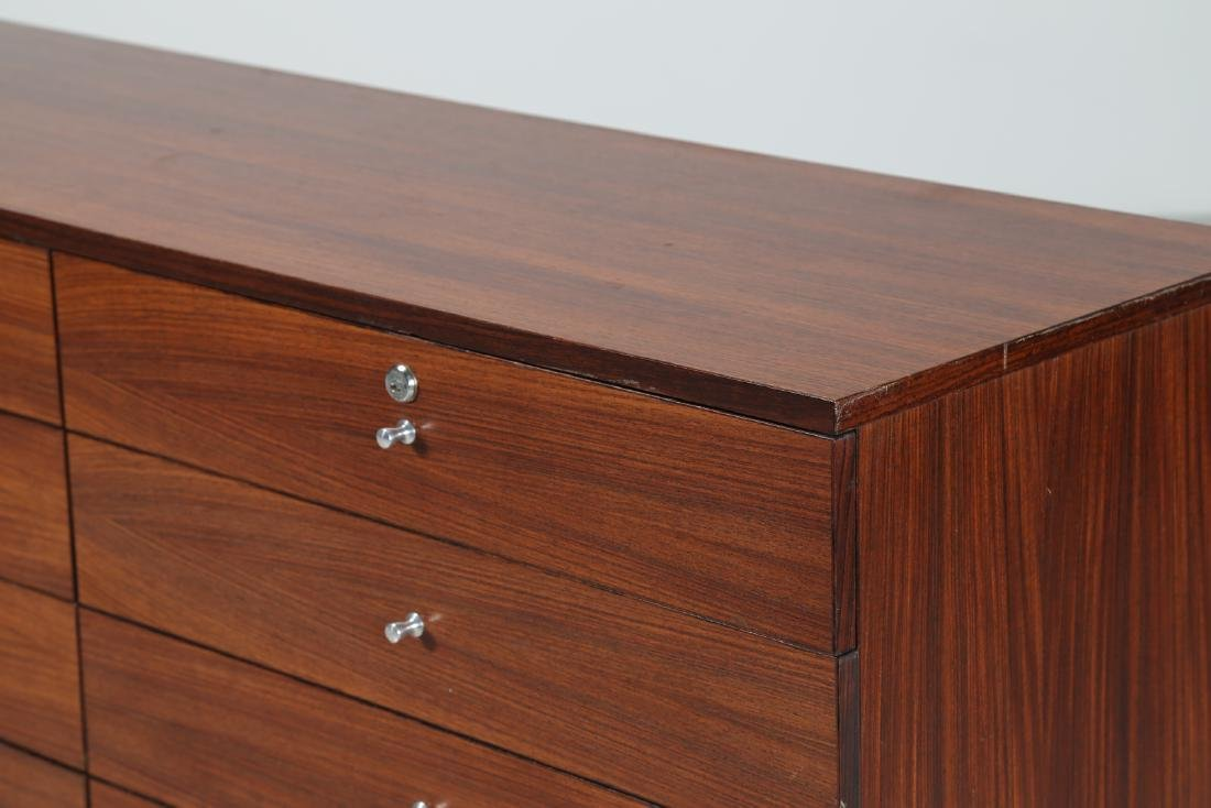 MIM  Chest of drawers in rosewood and metal, Mobili - 2
