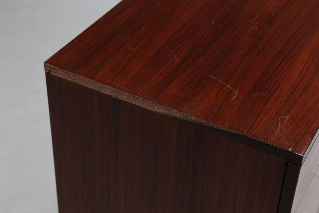 MIM  Chest of drawers in rosewood and metal, Mobili - 7