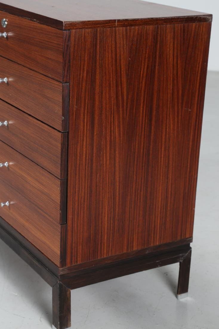MIM  Chest of drawers in rosewood and metal, Mobili - 9