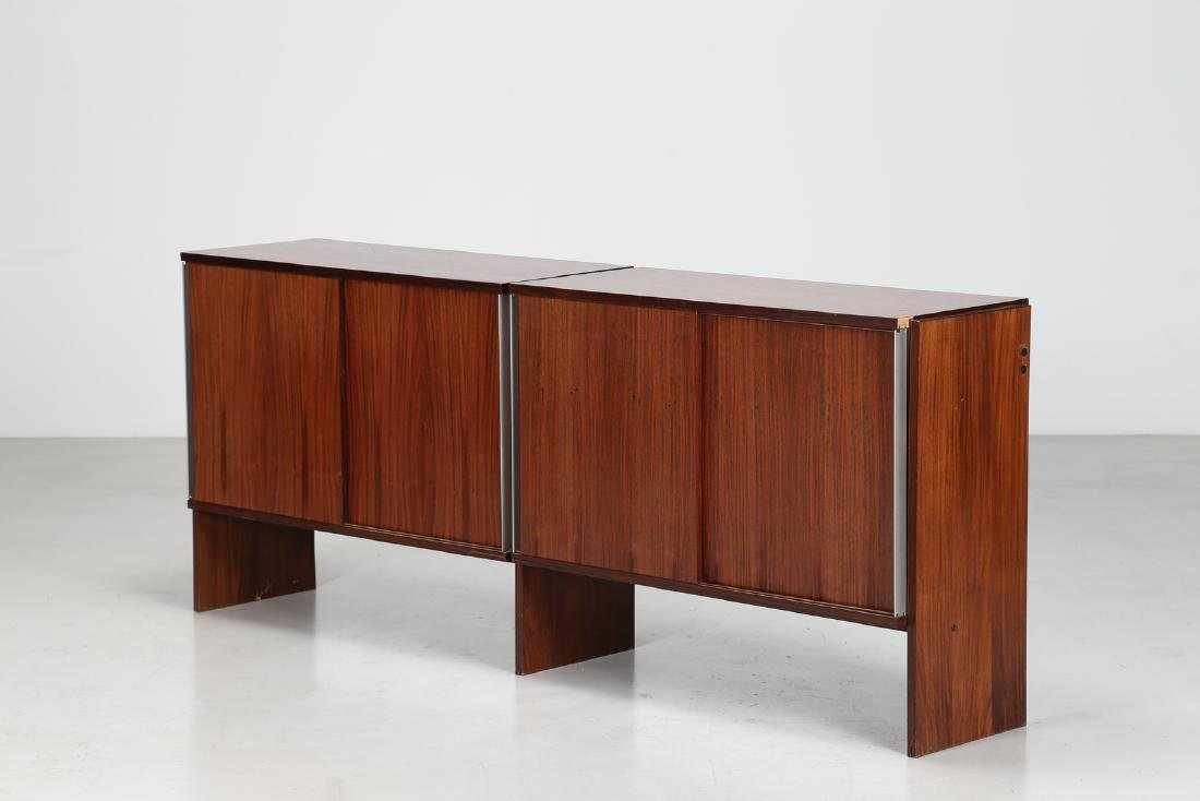 MIM  Rosewood sideboard with sliding doors, Mobili MIM