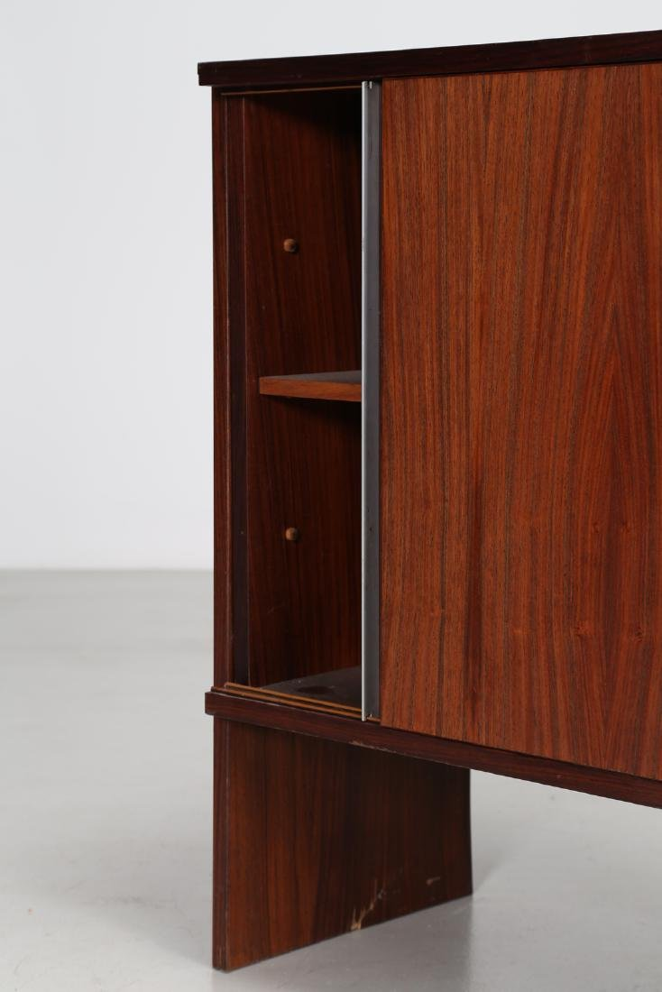 MIM  Rosewood sideboard with sliding doors, Mobili MIM - 4