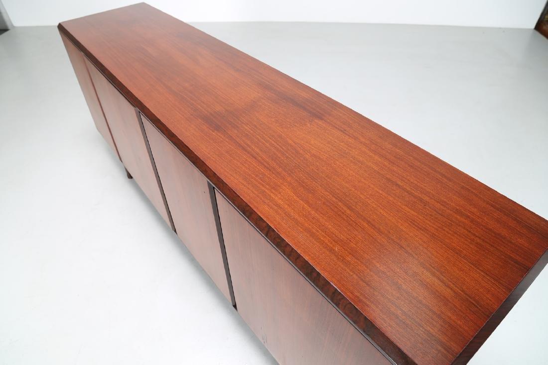 MANIFATTURA ITALIANA  Rosewood sideboard, 1960s. - 4