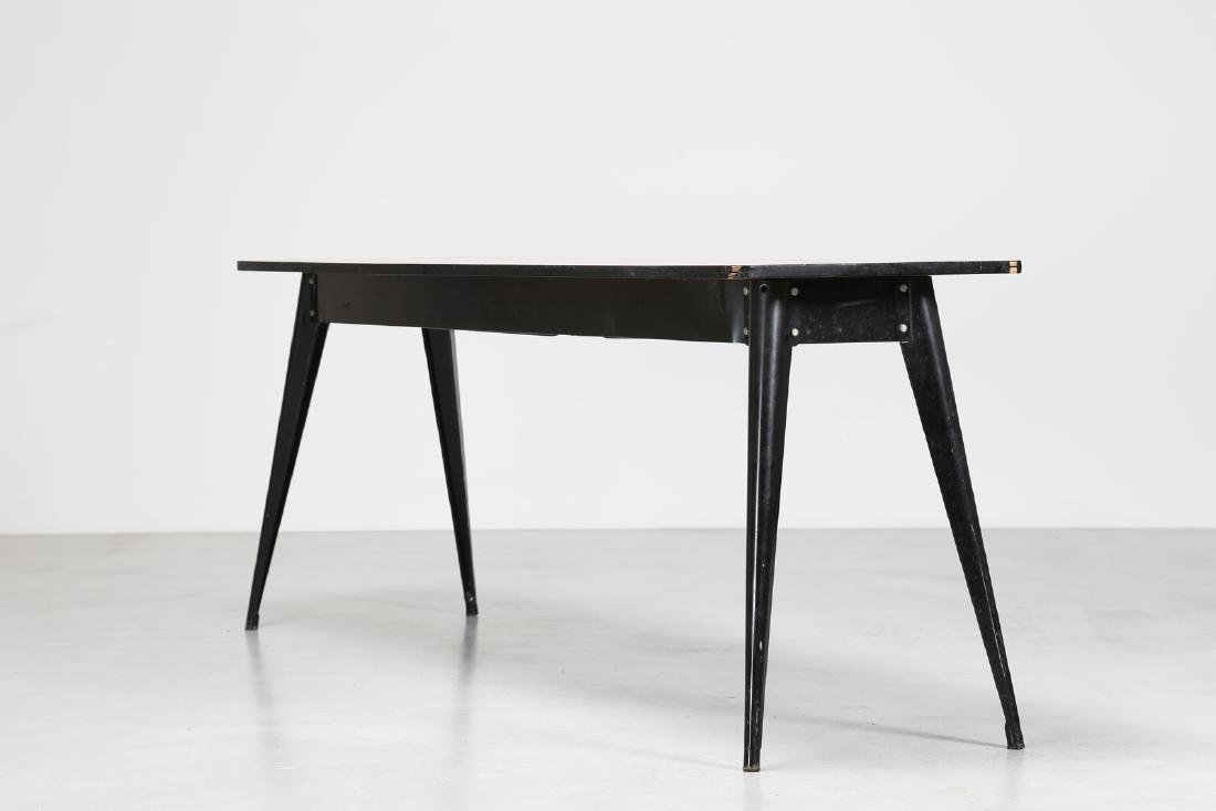 MANIFATTURA FRANCESE  Console table in lacquered metal - 2