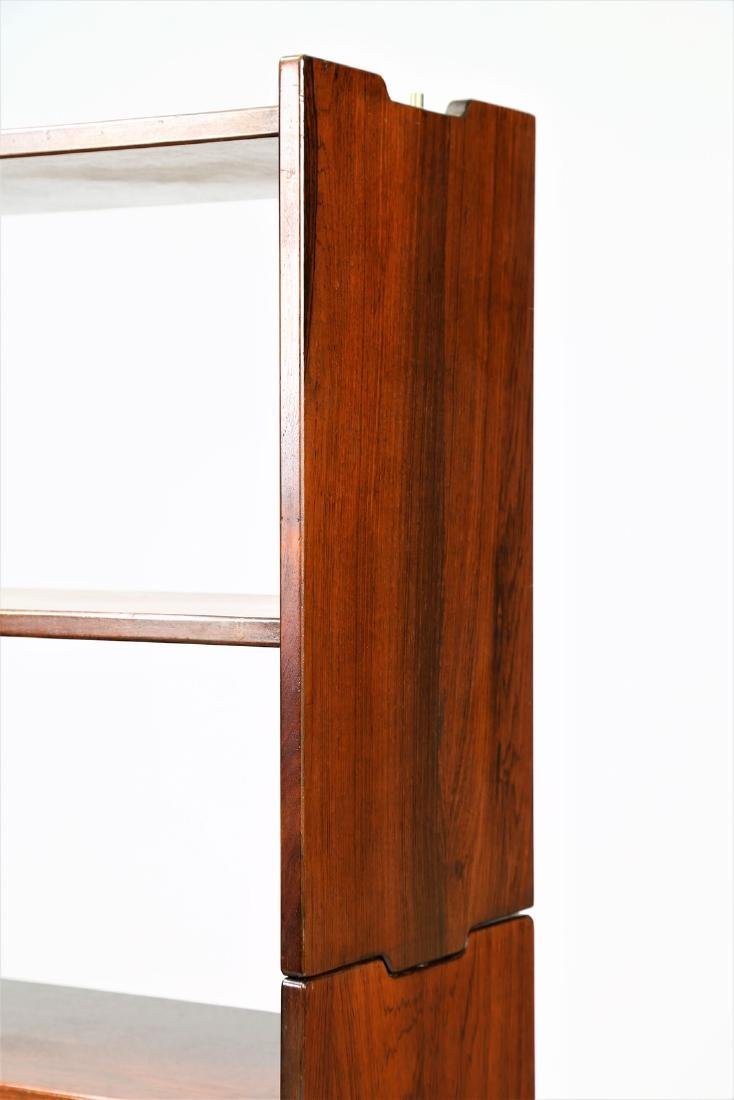 CLAUDIO SALOCCHI Pair of rosewood wall units by - 6