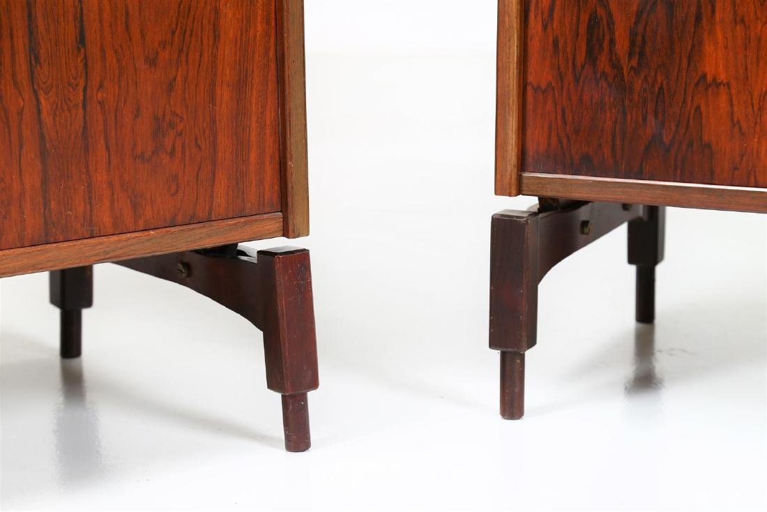 CLAUDIO SALOCCHI Pair of rosewood wall units by - 8