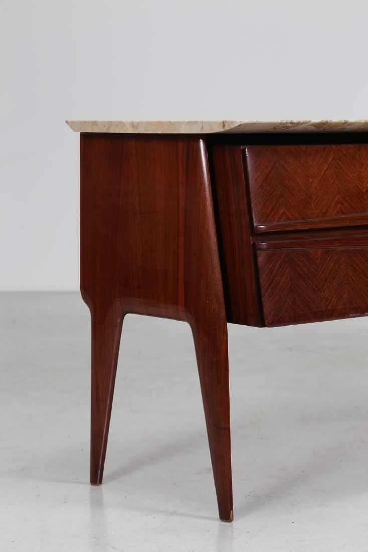 ANGELI, OLIVIERI, DE CARLI  Distinctive rosewood drawer - 2