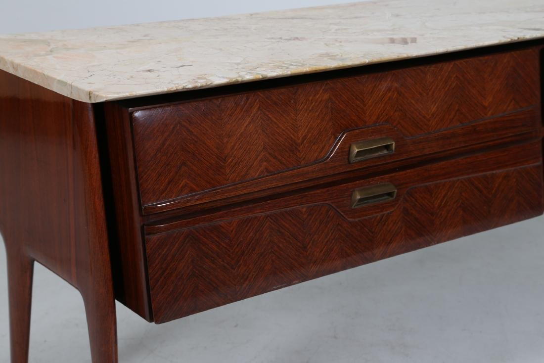 ANGELI, OLIVIERI, DE CARLI  Distinctive rosewood drawer - 3