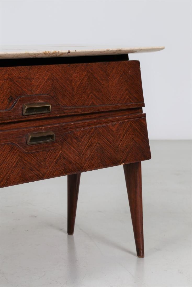 ANGELI, OLIVIERI, DE CARLI  Distinctive rosewood drawer - 5
