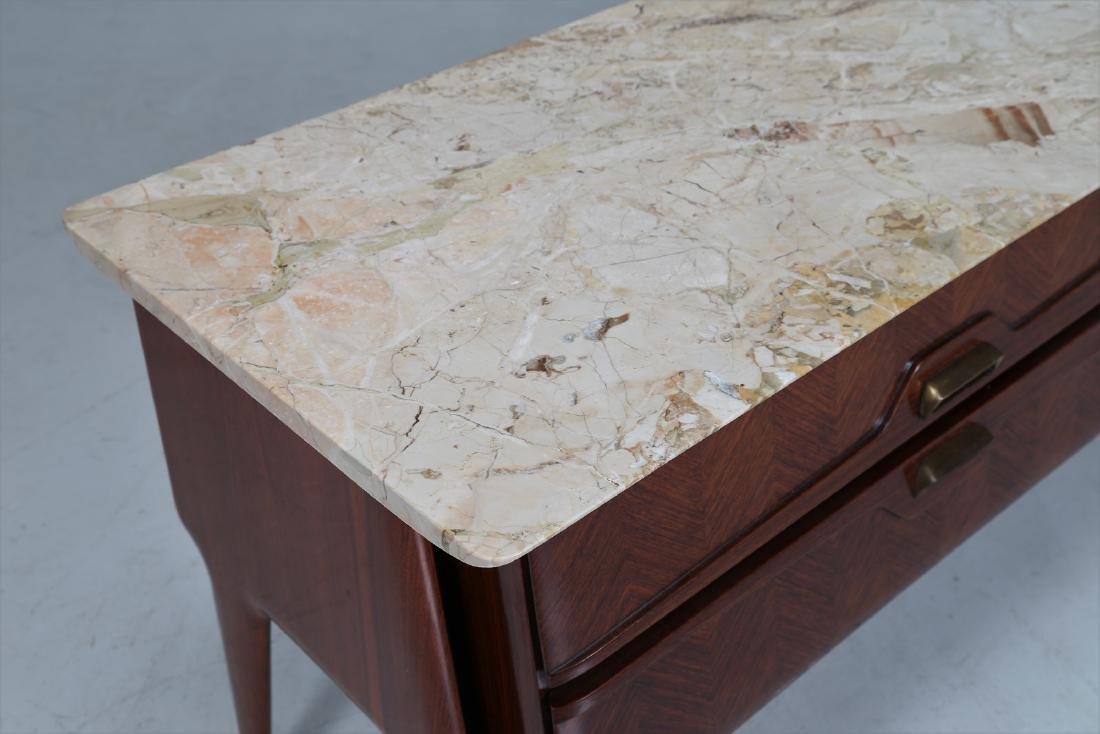 ANGELI, OLIVIERI, DE CARLI  Distinctive rosewood drawer - 7