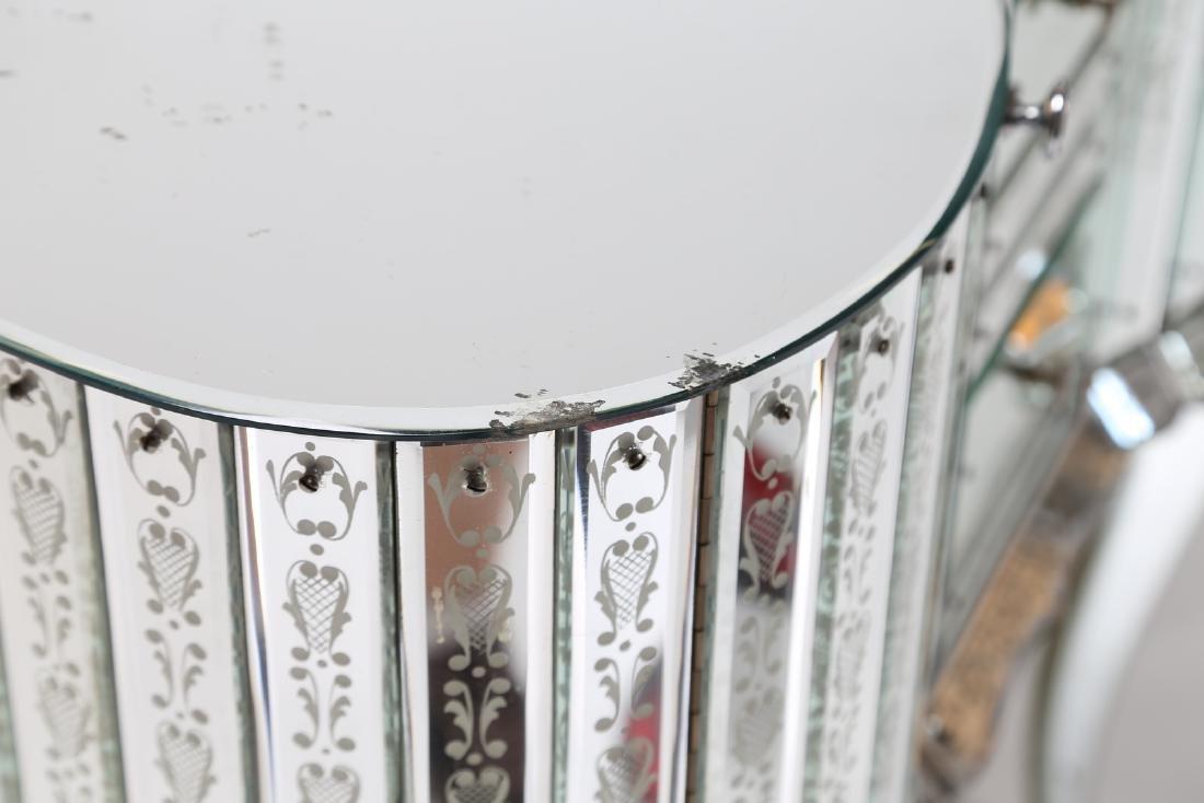 LUIGI BRUSOTTI Attrib. Glass and nickel-plated brass - 5