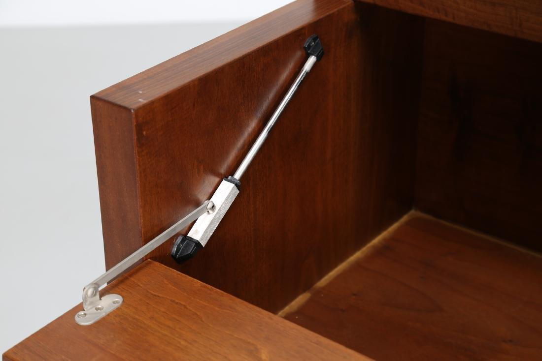 GIOVANNI MICHELUCCI Walnut cupboard, for Fantacci, - 6
