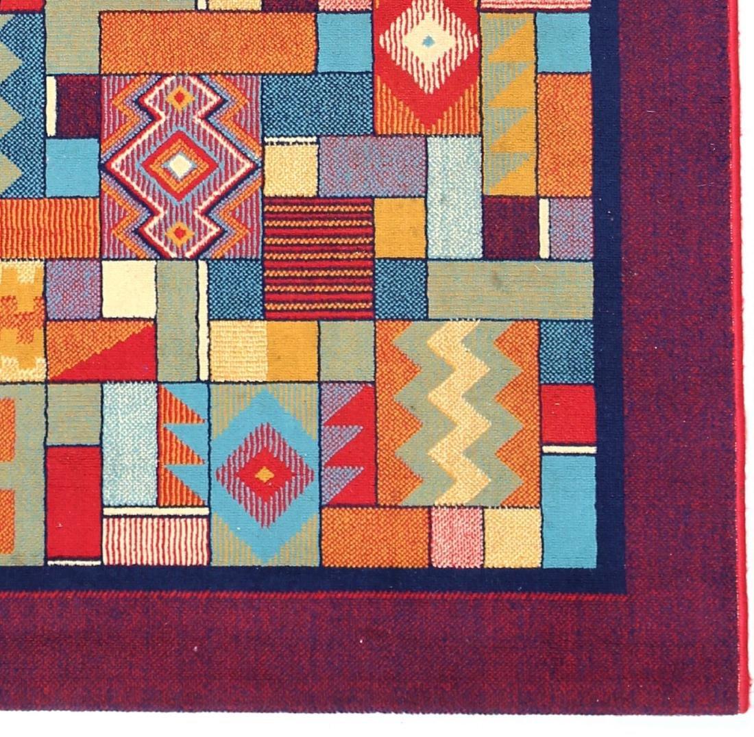 MANIFATTURA ITALIANA  Wool rug, 1970s. - 2