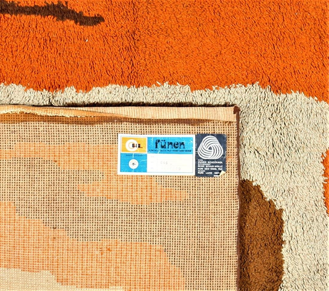 CARLO  HAUNER Wool rug, 1970s. - 3