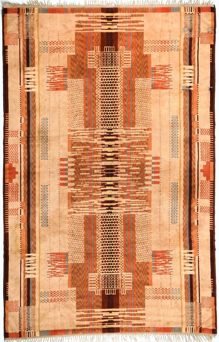 MANIFATTURA ITALIANA  Art deco wool rug, 1930s.