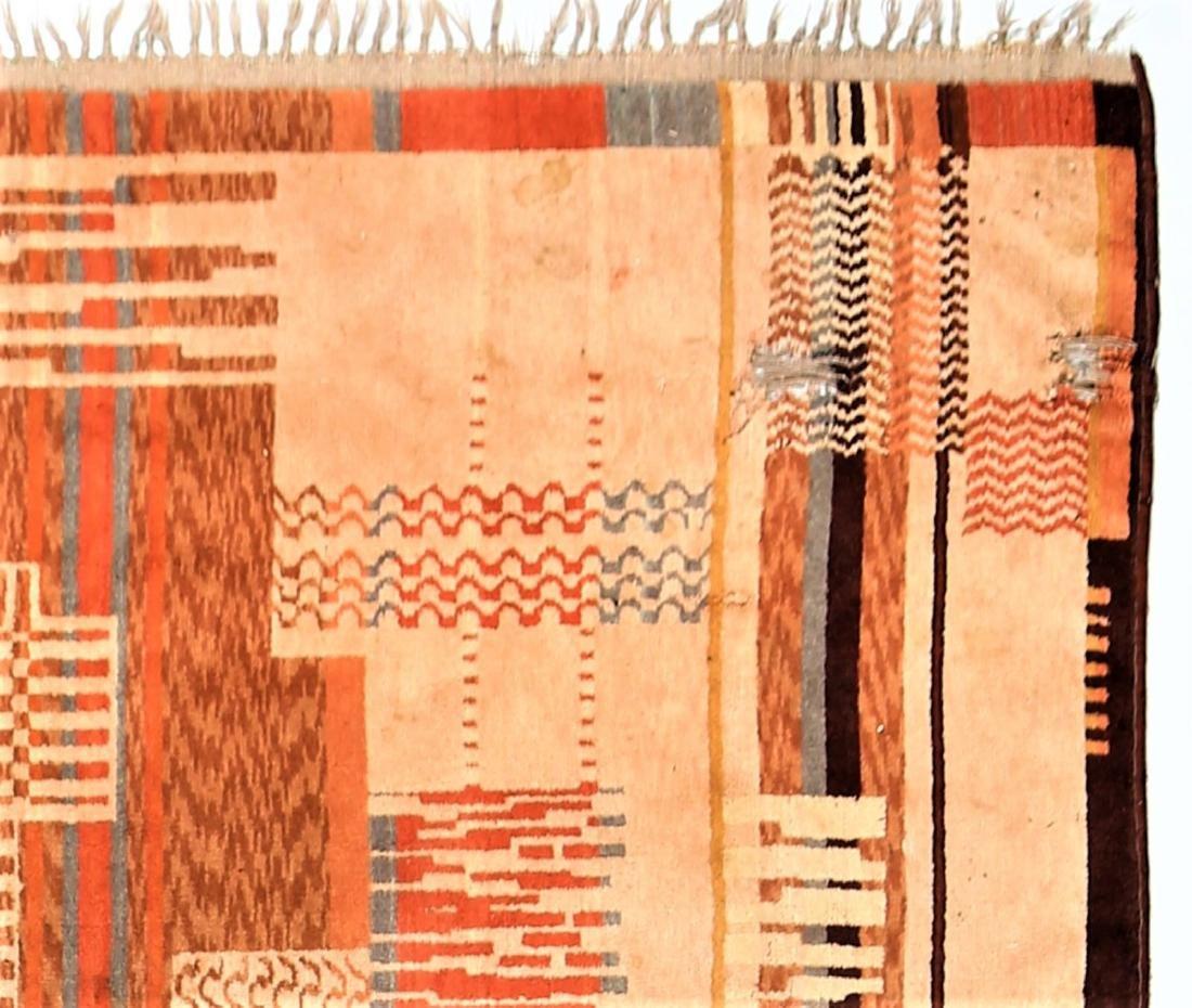 MANIFATTURA ITALIANA  Art deco wool rug, 1930s. - 2