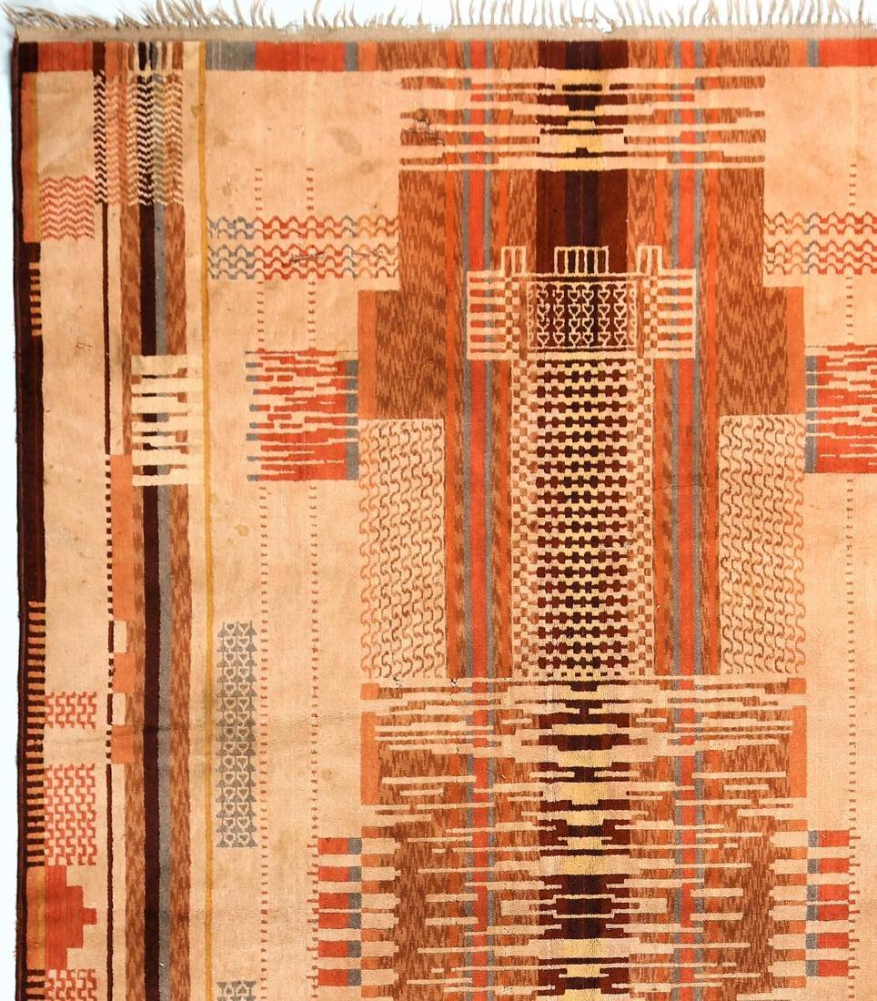 MANIFATTURA ITALIANA  Art deco wool rug, 1930s. - 3