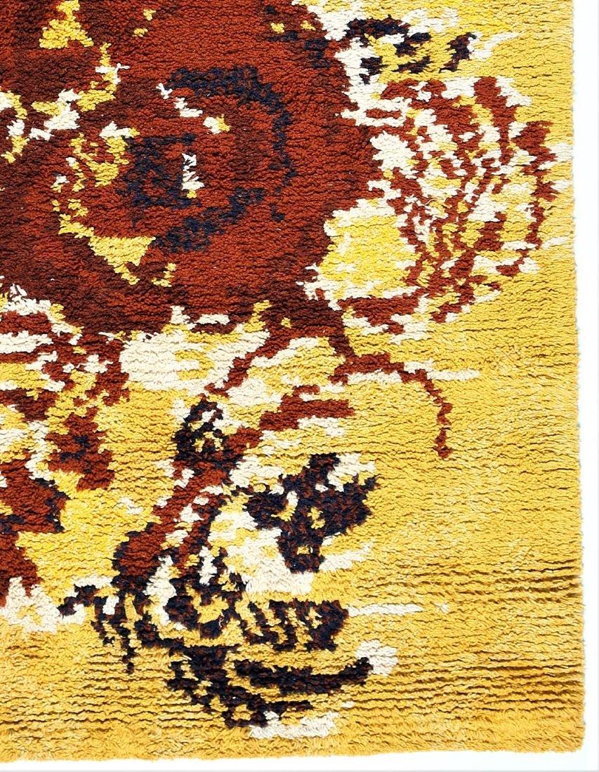 RENATA BONFANTI Distinctive wool rug, 1960s. - 2