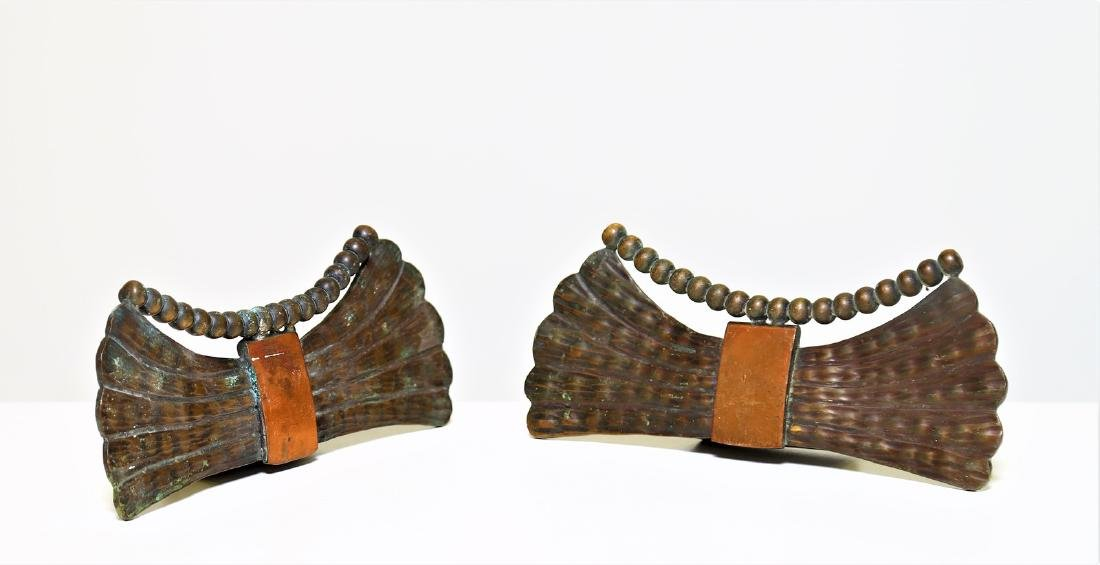 MANIFATTURA ITALIANA  Complete handle in brass and